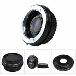 Md-eos Focus Infinity Glass Adapter For Minolta Md Mc Lens To Canon Dslr Camera