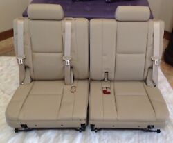 Oem Cadillac Escalade 3rd Third Row Seat Cashmere Leather Like New