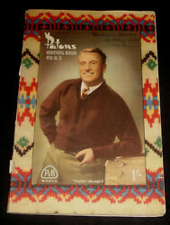 Patons Knitting Book No.r.3 - Men's Sweaters, Vests And Jumpers.67 Pages