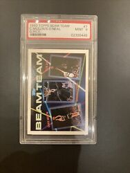1992 Shaquille Oneal Shaq Rookie Card Topps Beam Team Psa 9