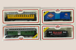 New Ho Scale Model Power Train Cars Lot Of 4 Electric Trains