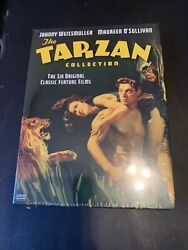 The Tarzan Collection Johnny Weissmuller 6 Films Dvd Brand New And Sealed Oop