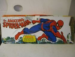 1973 Amazing Spider-man Orig. Marvel Ideal Playset Fold-out Case And Figures
