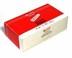 200 Pcs Blitz System Smoking Pipe Filters Made In Germany - 9mm