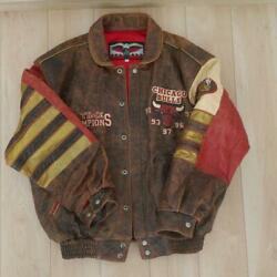 97 Jeff Hamilton's Jacket To Commemorate The 1997 Chicago Bulls Victory