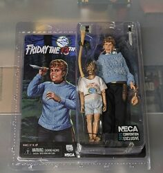 Neca Friday The 13th Pamela Voorhees And Jason 2015 Sdcc Exclusive Set Rare Misb