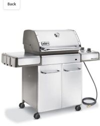 Weber Genesis S-310 Stainless Steel Natural Gas Grill