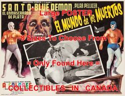 Suicide Mission 1973 Wrestling Muertos Knife = Movie Poster 8 Sizes 17 - 3 Feet