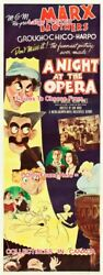 A Night At The Opera 1948 Marx Bros. Cartoon = Poster 3 Sizes 6ft / 9ft / 10.5ft