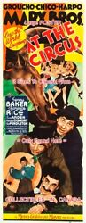 At The Circus 1939 Marx Bros. Horse Girls = Poster 3 Sizes 6 Ft / 9 Ft / 10.5 Ft