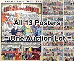 Charles Lucky Luciano 1943 True Life Gangster Mafia =13 Posters 4 Sizes 18-2 Ft