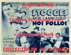3 Three Stooges 1935 Hoi Polloi 1926 Fageol Truck = Poster 10 Sizes 17 - 4.5 Ft