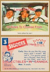 Three Stooges 1959 Truck 48 = Poster Trading Card 10 Sizes 18 - 4 1/2 Feet