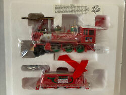 Hawthorne Rudolph's Christmas Town Express Train Steam Locomotive And Tender New