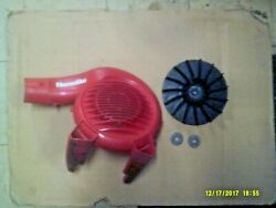Used Homelite Leaf Blower Outer Volute 521802002 / Fan 521308001