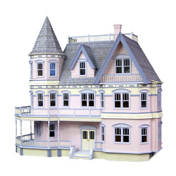 Complete Queen Anne Dollhouse By Real Good Toys