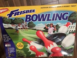 Vintage 1998 New Sealed Wham-o Frisbee Outdoor Lawn Bowling Recreation Portable