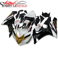 Abs Fairing Kit For Gold White Black Zx-6r 636 2005 2006 Zx6r 05 06 Injection