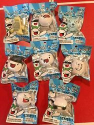 Full Set - 8 James The Odd 1and039s Out Ones Regular Mini-squooshies 2 Squishy Foam