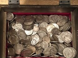 10 Face 90 Silver Us Coins Vintage Better Coin Lot Barber Standing Liberty