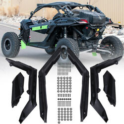 Extended Fender Flares Mud Flaps Guards For Can-am Maverick X3 2017-21 715002973