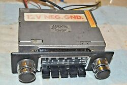 Audiovox C-579a Am-fm Stereo Car Radio Din-size And Knobs And Bezel Pro Serviced