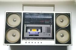 Vintage Panasonic Rx-f35 4 Speaker Boombox Ghetto Blaster For Parts Or Repair