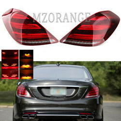 Set Led Tail Light Rear Lamp For Mercedes-benz S-class Amg 2014 2015 2016 2017