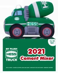 2021 Hess Toy Truck Cement Mixer Plush.mint New From Factory Caseamerada