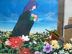 Galaxy Express 999 9th 10 Stories Curio Traderand039s Fork Hanako Cell Painting