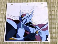Vintage Tekkaman Blade Knight Of The Universe Cell Painting Video Correction