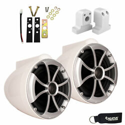 Wet Sounds For Supra Fxone Icon8-wx Icon 8 X-mount Speakers White With Brackets