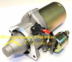 New Starter Motor With Solenoid Fits Honda 11hp And 13hp Gx340 Gx390 Engine Motor