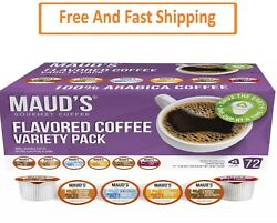 Maudand039s Gourmet 100 Arabica Flavored Coffee Variety Pack 72 Ct.