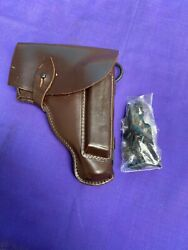 Bulgarian Army Makarov Pistol Leather Holsterandcleaning Tool/ Accessories