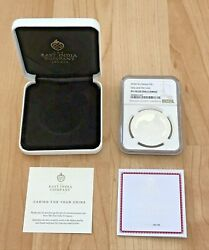 Ngc Pf70 2020 Uk St. Helena Una And The Lion 1 Oz Silver Coin Proof Box Coa