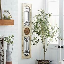 Wood Metal Wall Panel 58 By 12-inch