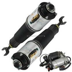 Front Air Struts W/ Compressor For Audi A8 Quattro And S8 Pair Arnott