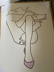 Lucie Bennett - Rose Coloured Shoes - Limited Edition Print - Never Framed