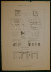 1920's Architecture Print New York Telephone Mckenzie Voorhees And Gmelin Plan
