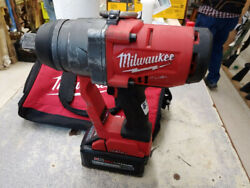 Milwaukee One-key 18v Lith-ion Brushless Cordless 1 Impact Wrench With Battery
