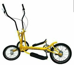 Eliptical Bike Street Rambler 3 Speed Foldable. Free Local Delivery. No Shipping