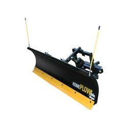 Meyer Products 24000 Homeplow Pre-assembled 6and0398l X 22h Snowplow With Wheels