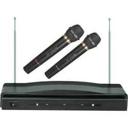 New Supersonic Sc-900 Professional Wireless Dual Microphone System Sc900s