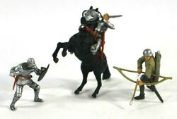 132 Forces Of Valor Historical Legends Mounted Medieval Knight,archer,foot Sold