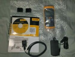 Fluke Calibration 1524-156 Dual Channel Handheld Ref Thermometer Calibrated Kit