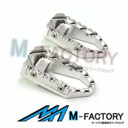 Cnc Wide Highway Rider Touring Footpegs Fit Mv Agusta F4 F3 Brutale 750 910 989r