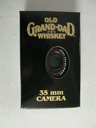 Rare Old Grand Dad Whiskey 35mm Focus Free Camera New Old Stock