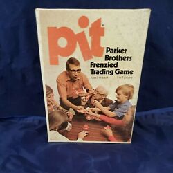 Vintage Pit Card Game Parker Brothers Frenzied Trading Game 1973 Free Shipping