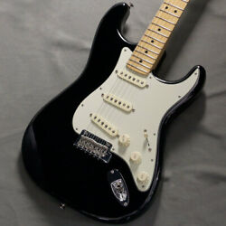 Used Fender American Professional Stratocaster Mn Black Guitar Gyl240